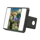 St Francis / Cairn Terrier Rectangular Hitch Cover