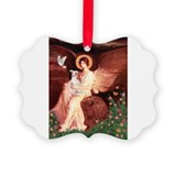 Seated Angel / Italian Greyho Ornament
