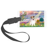 Cloud Angel / JRT puppy Luggage Tag