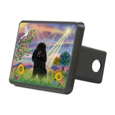 Cloud Angel / Poodle (blk#2) Hitch Cover