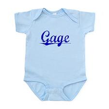 Gage, Blue, Aged Infant Bodysuit