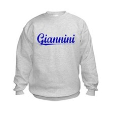Giannini, Blue, Aged Sweatshirt