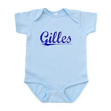 Gilles, Blue, Aged Infant Bodysuit