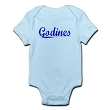 Godines, Blue, Aged Infant Bodysuit