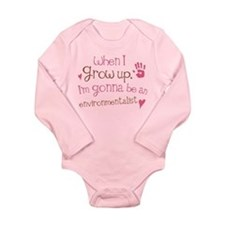 Kids Future Environmentalist Long Sleeve Infant Bo