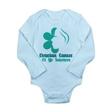 Ovarian Cancer 15 Year Survivor Long Sleeve Infant