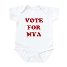 VOTE FOR MYA Infant Creeper