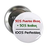 "Italian & Puerto Rican 2.25"" Button (10 pack)"