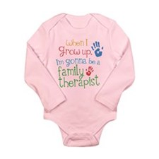 Future Family Therapist Long Sleeve Infant Bodysui