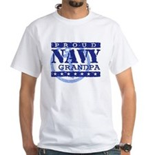 Proud Navy Grandpa Shirt