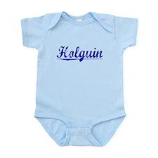 Holguin, Blue, Aged Infant Bodysuit