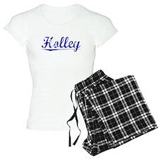 Holley, Blue, Aged pajamas