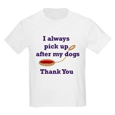 Dog Lovers Gifts, Dog Humor Kids T-Shirt