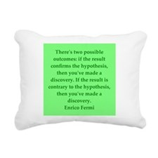 fermi6.png Rectangular Canvas Pillow