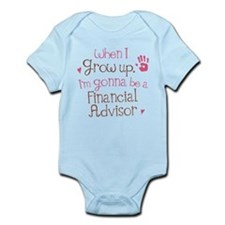 Future Financial Advisor Infant Bodysuit