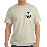 Navy BM2 <BR>Haze Grey T-Shirt