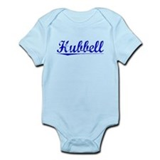 Hubbell, Blue, Aged Infant Bodysuit