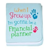 Future Financial Planner baby blanket