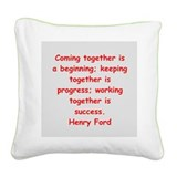 9.png Square Canvas Pillow