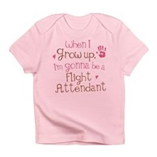 Future Flight Attendant Infant T-Shirt