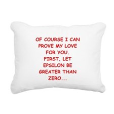 math joke gifts t-shirts Rectangular Canvas Pillow