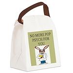 pop psych Canvas Lunch Bag