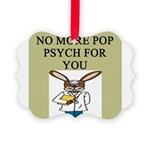 pop psych Picture Ornament
