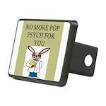 pop psych Rectangular Hitch Cover