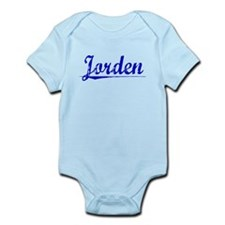 Jorden, Blue, Aged Infant Bodysuit