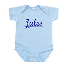 Jules, Blue, Aged Infant Bodysuit