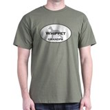 Whippet GRANDPA Black T-Shirt