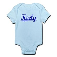 Keely, Blue, Aged Infant Bodysuit