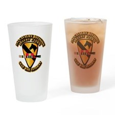 Army - DS - 1st Cav Div Drinking Glass
