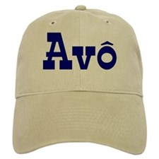 Avo Baseball Cap (White or Khaki)