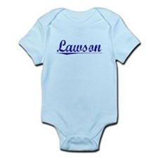 Lawson, Blue, Aged Infant Bodysuit