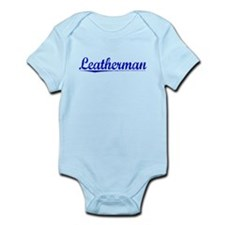 Leatherman, Blue, Aged Infant Bodysuit