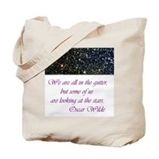 Wilde-in the gutter Tote Bag