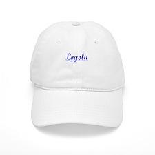 Loyola, Blue, Aged Baseball Cap