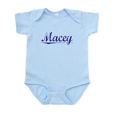 Macey, Blue, Aged Infant Bodysuit