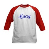 Macey, Blue, Aged Tee