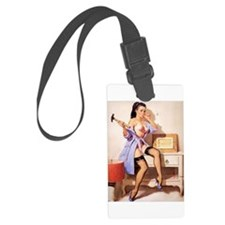 The Pin Up Girl. Luggage Tag