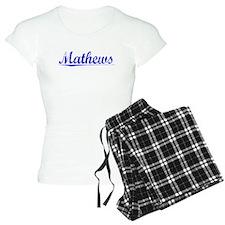 Mathews, Blue, Aged Pajamas