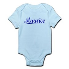 Maurice, Blue, Aged Infant Bodysuit
