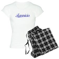 Mauricio, Blue, Aged pajamas