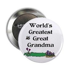 World's Greatest Great Grandm Button