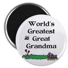 World's Greatest Great Grandm Magnet