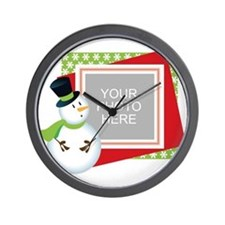 Personalized Christmas Wall Clock