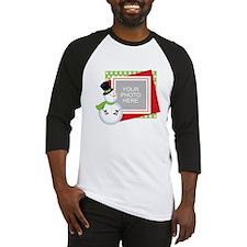 Personalized Christmas Baseball Jersey