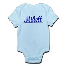 Mikell, Blue, Aged Infant Bodysuit