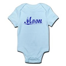 Moon, Blue, Aged Infant Bodysuit
